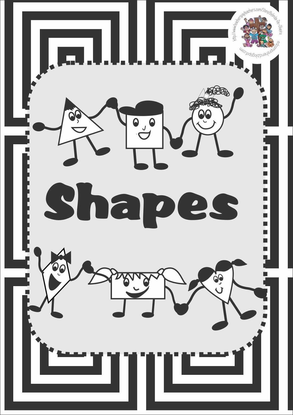 Some Free Shape Activity Resources Check Them Out On My