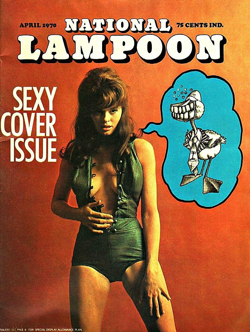 Обложки журнала National Lampoon за 1970 год