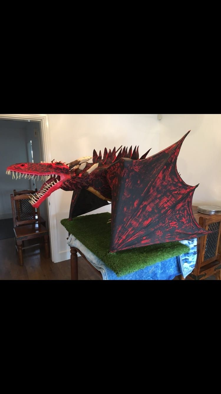 How Cindy Made Her Paper Mache Dragon | Ultimate Paper Mache | paper