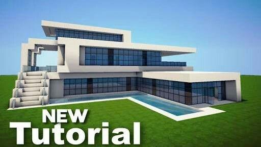 Minecraft huser modern bauplan trendy huser elegant for Hausbau ideen bauplane