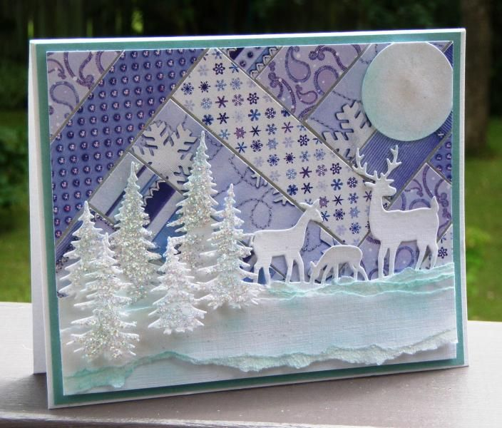 Christmas Card from Stamperrobin