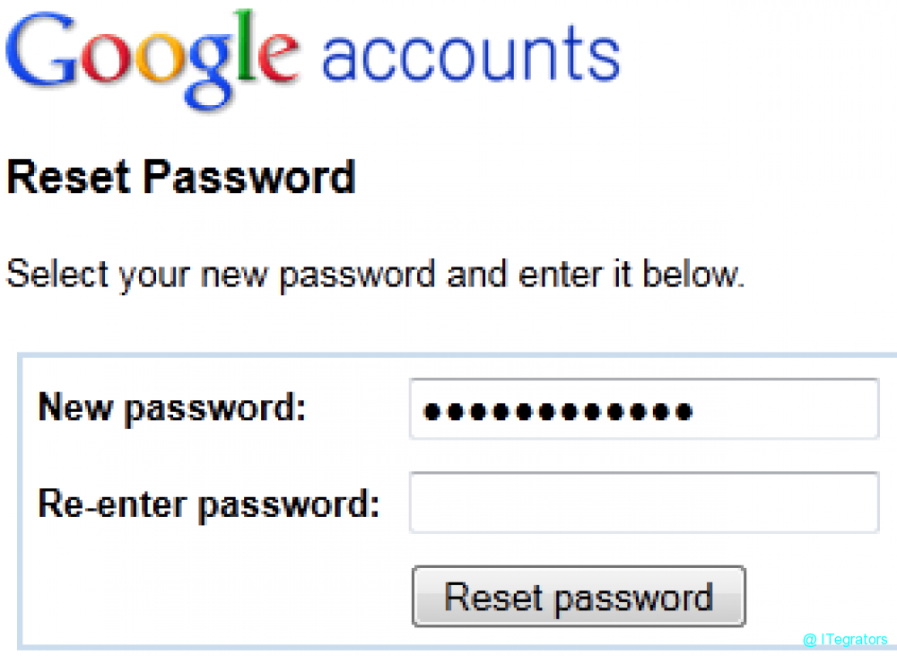 If You Are Inquiry For Recover Forgot Google Account Password Or