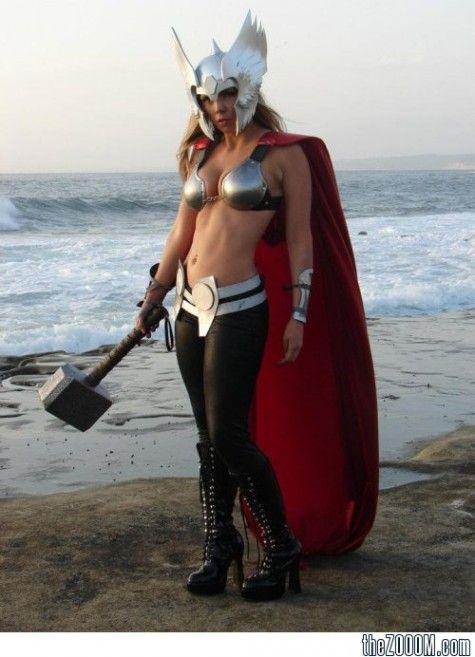 & Thor Girl | Anime | Pinterest | Thor Cosplay and Girl gamer