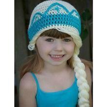 Princess Hat- Blonde Braid