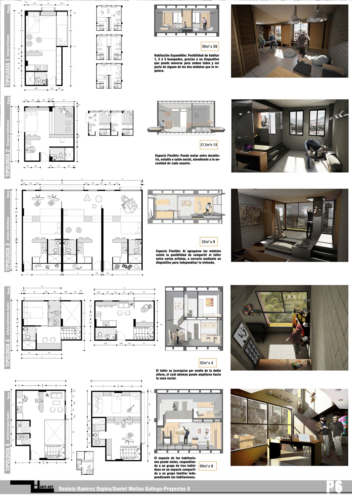 Plancha 6 entrega final talle architecture interior - Interior design presentation layout ...