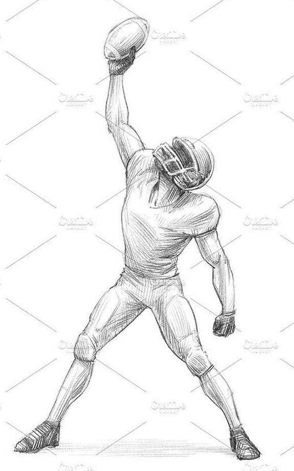 Pin De D Oficinatodo En Football Players Jugadores De Futbol Americano Dibujos De Futbol Futbol Americano Nfl