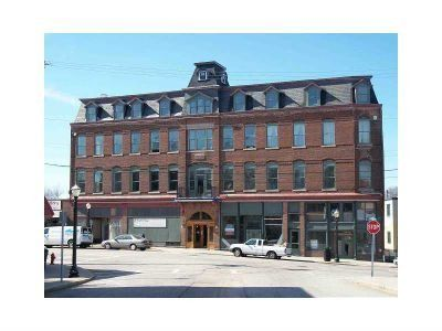The Old Savoy Hotel Being Renovated Into Condo Artist Co Op Downtown Next To Train Station