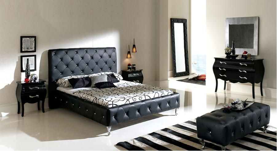 black bedroom accessories Create an elegant black bedroom shades