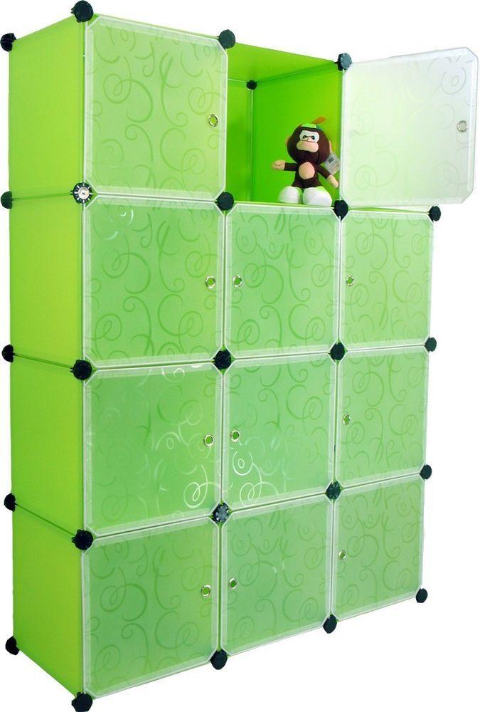 Furniture Bookcase Storage Cabinet Shelf Closet Cube Organizer Pink Cubitbox 4