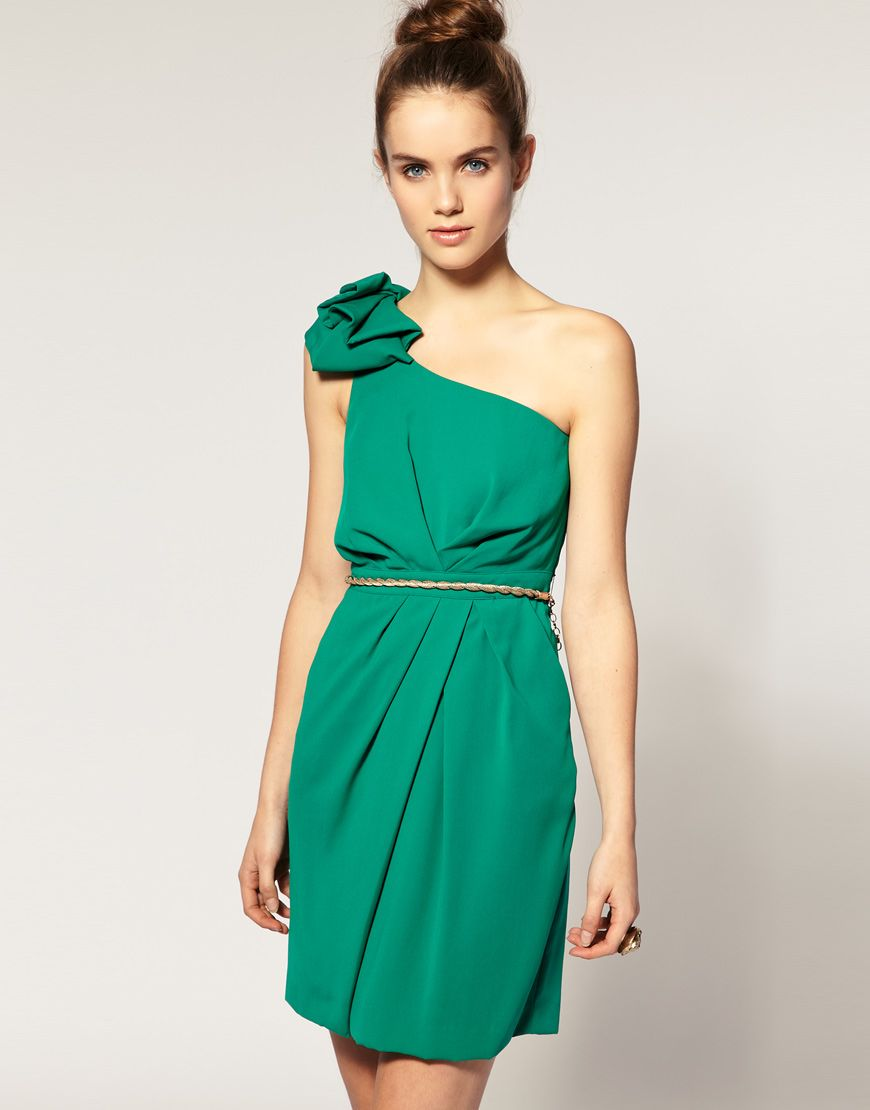 Warehoues Origami One Shoulder Dress from ASOS.