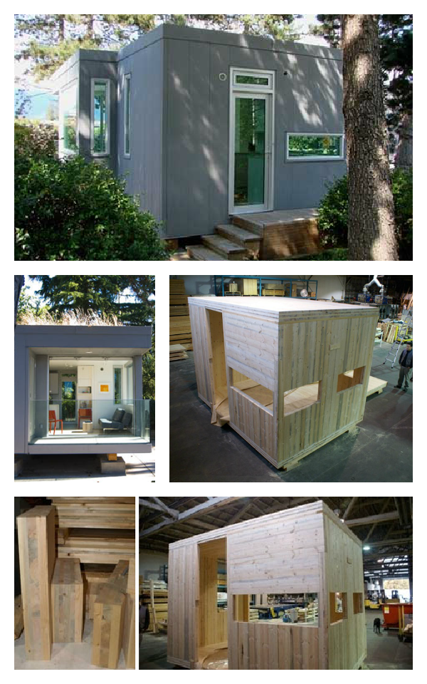 l41 tiny prefab home how it s made can t be that hard right rh pinterest com