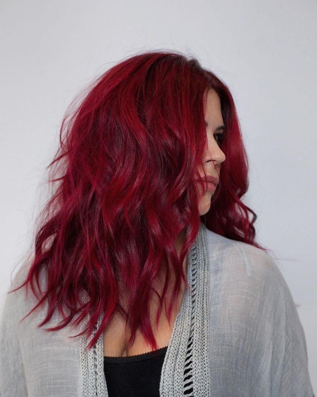 Red Velvet Livedinhair Hairgoals Hairdressermagic Salonlife Hairtrends Hairdresser Hair In 2020 Hair Styles Curls For Long Hair Long Hair Styles