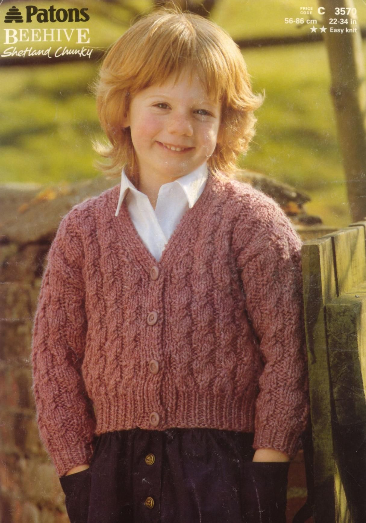 Patons 3570 Cardigan : Free Download, Borrow, and ...