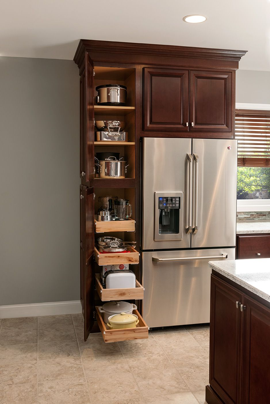 American Woodmark Cabinets Exclusively At The Home Depot Kitchen Remodel Small Kitchen Cabinet Storage Diy Kitchen Cabinets