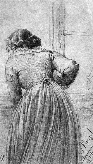 Francis Vallejo | inspiration: adolf menzel b.1815-1905