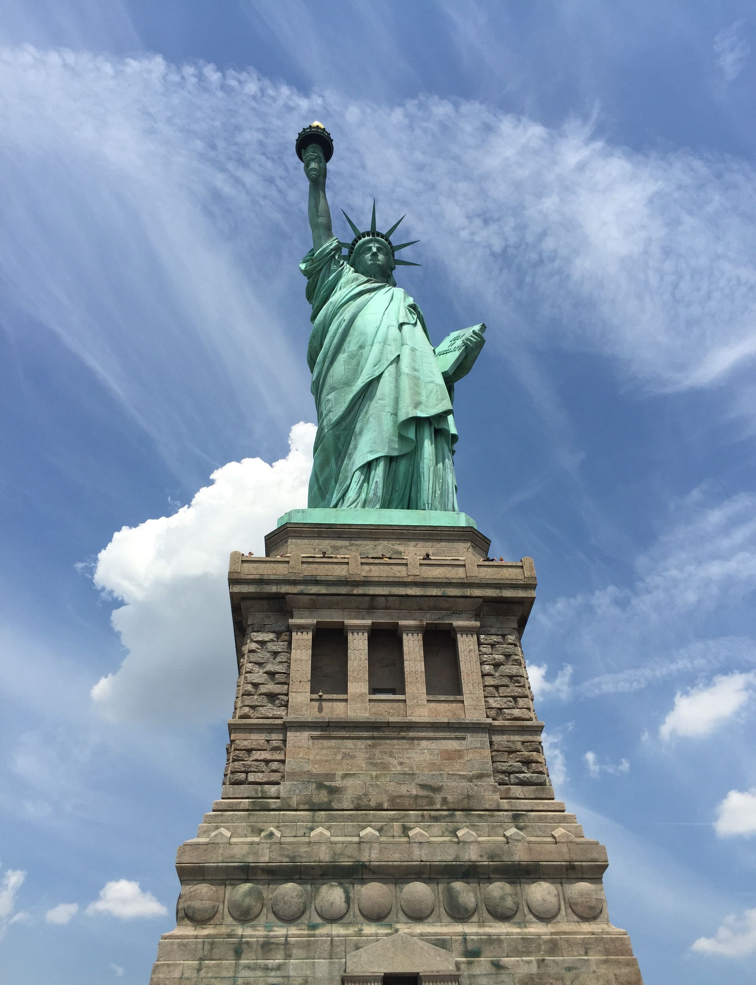 Statue of Liberty, ek