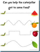 very hungry caterpillar free printables for tot school