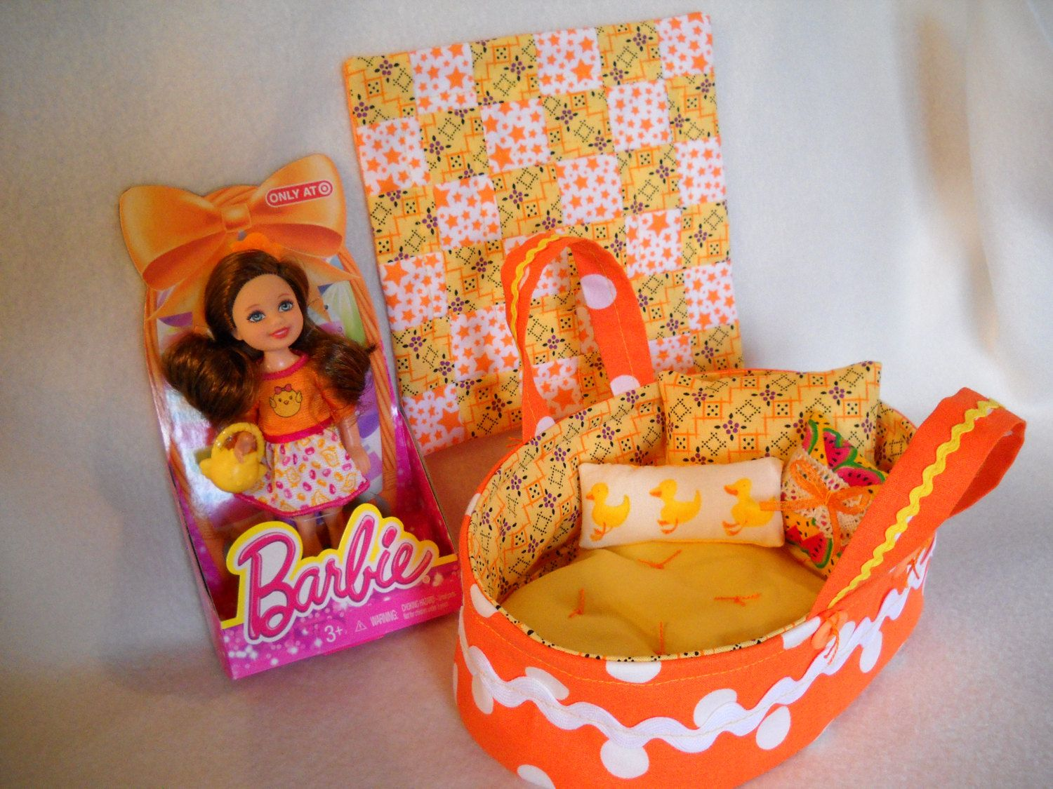 Kelly doll barbie doll toy mattel doll bed miniature quilt handmade kelly doll barbie doll toy mattel doll bed miniature quilt handmade girl easter grandma gift girls negle Image collections