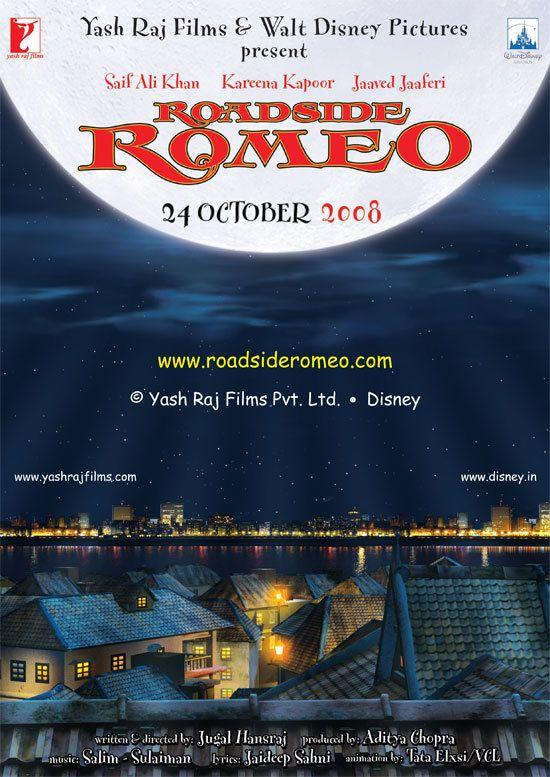 Roadside Romeo र डस इड र म य Jugal Hansraj 2008 Walt Disney Pictures Yash Raj Films Disney Pictures
