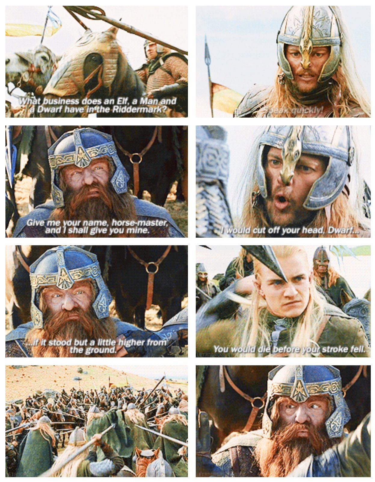 Middle Earth Races Dwarves Elves Men