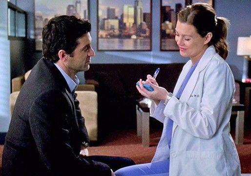 Die Klebezettel Hochzeit Greys Anatomy Derek Meredith Und Derek Meredith Grey