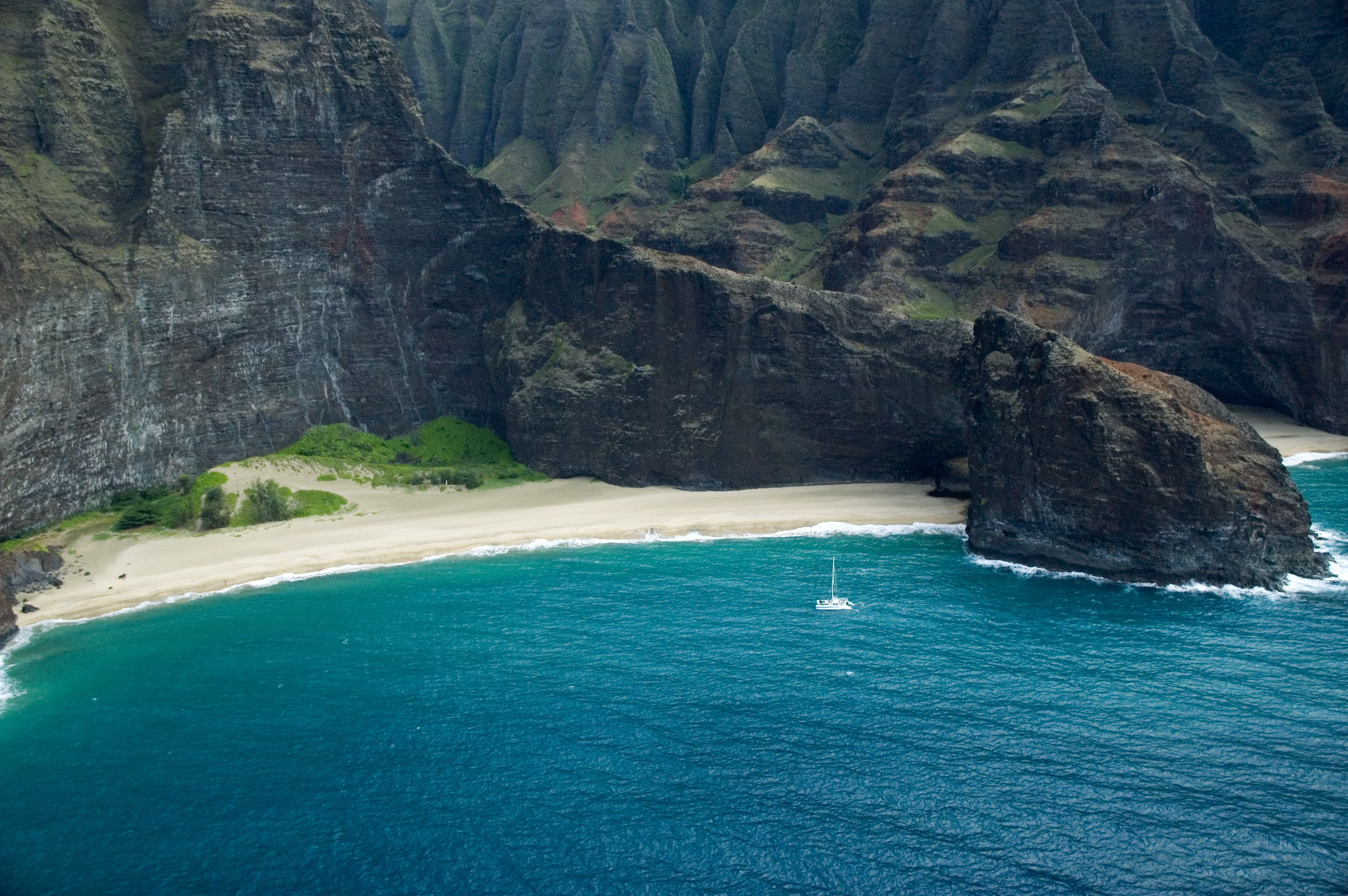 Honopu Beach Napali Coast Of Kauai Places Visit Die