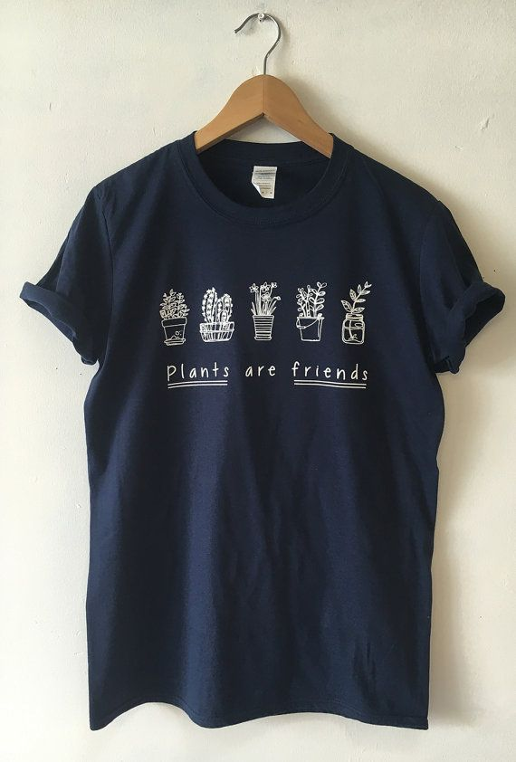 9c9d7f5e PLANTS ARE FRIENDS T-SHIRT SCREEN PRINTED FOR A SUPERIOR RETAIL QUALITY  FINISH Available in Unisex super soft T-shirt in a choice of Burgundy,  Black, ...
