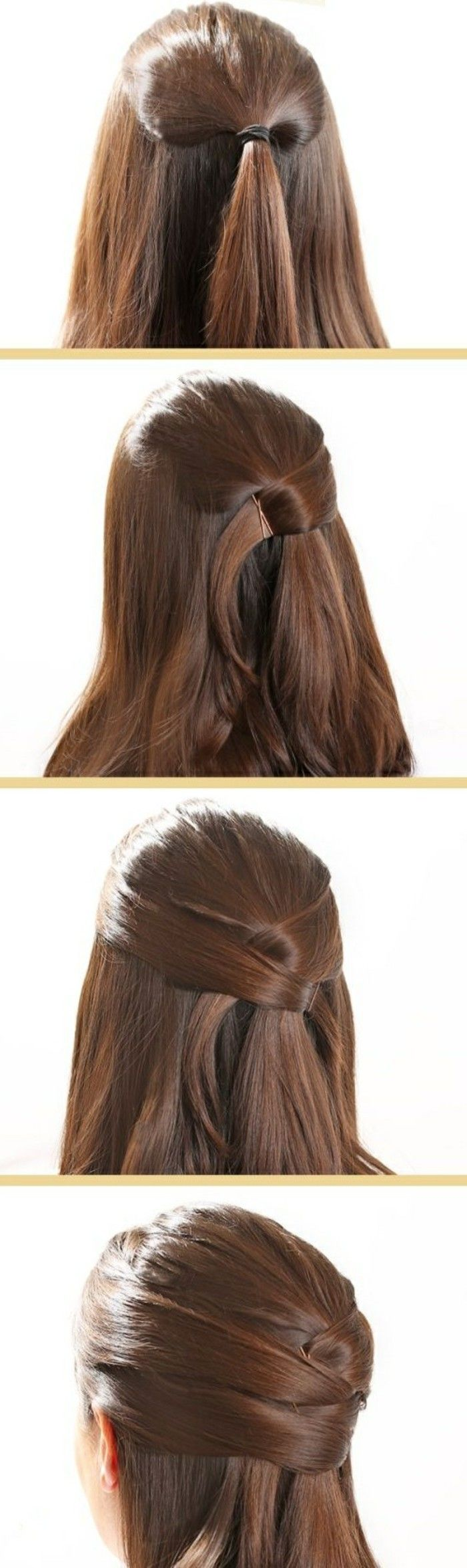 sch ne haarfrisuren f r jeden anlass haarfrisuren pinterest haarfrisuren selber machen. Black Bedroom Furniture Sets. Home Design Ideas