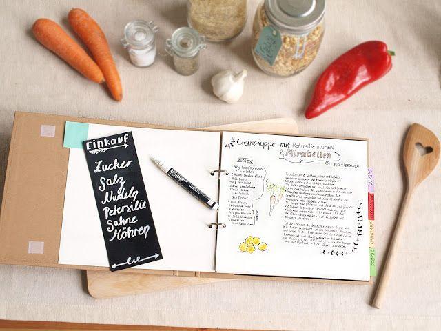 kochbuch selber gestalten ideen