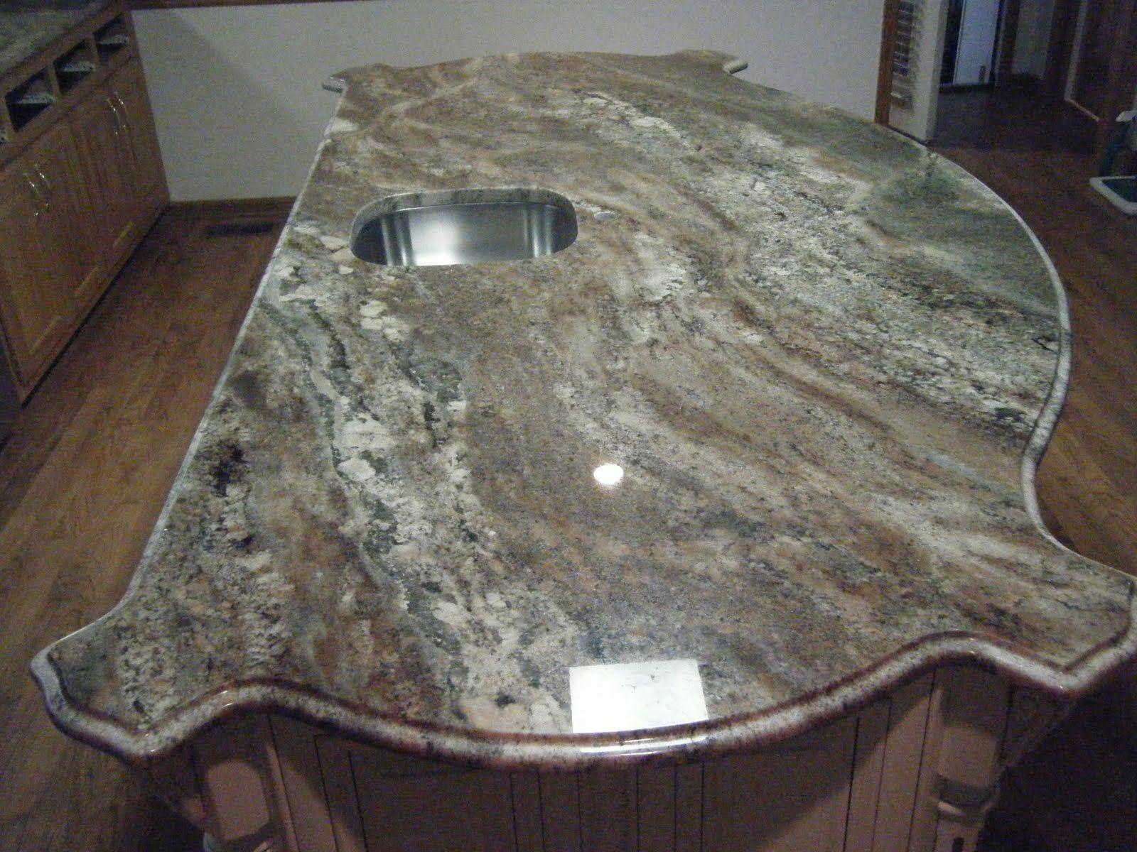 Amazing Azurite Granite For Kitchen Countertop Design Idea