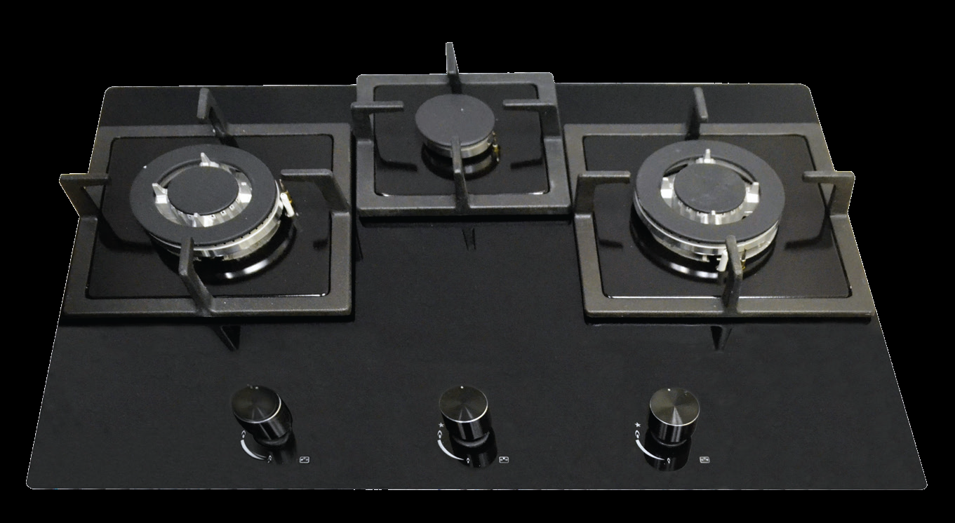 Alf 72 Built In 3 Burner Glass Gas Hob The Triple Flame High Power Wok Burner Suitable For Indian Cooking Nagold Hafele Built In Kitchen Appliances Gas Hob