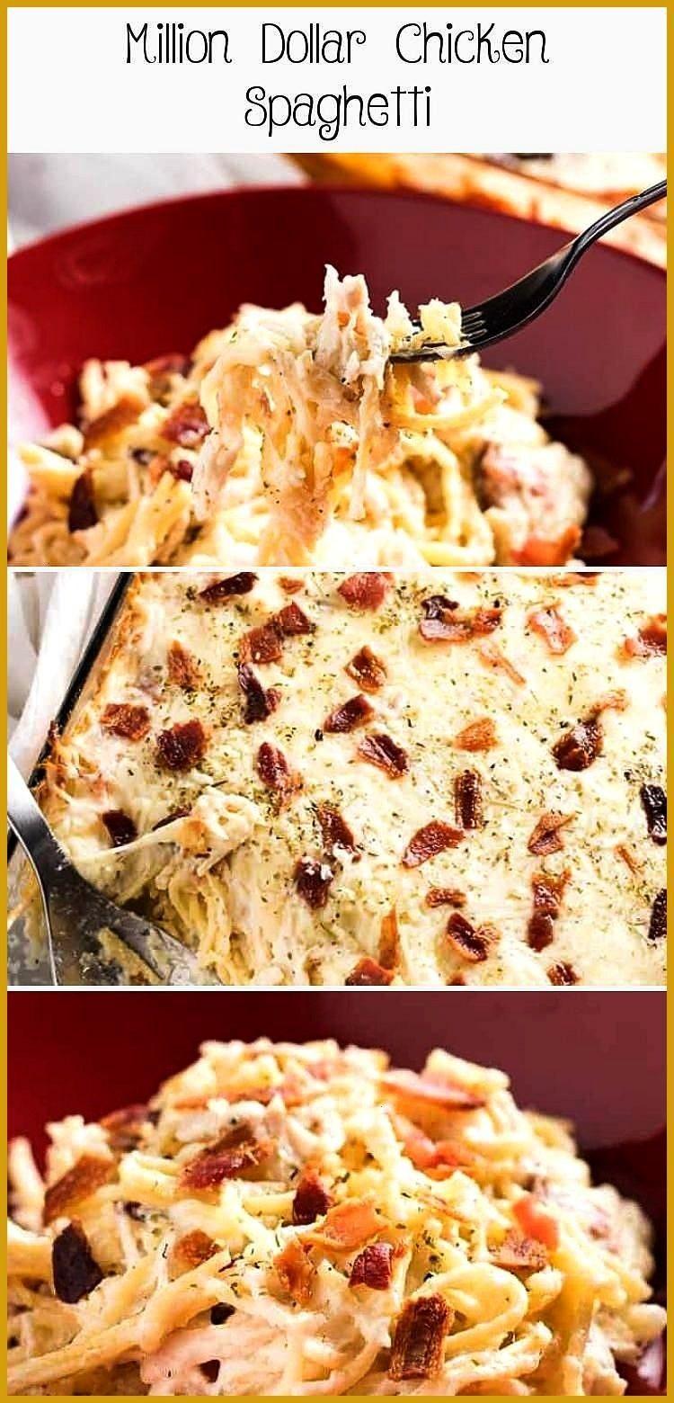 Dollar Chicken Spaghetti sourcreamnoodlebake Million Dollar Chicken Spaghetti  The best ever chicke