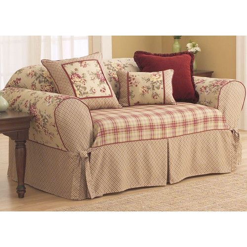 Sure Fit Lexington Sofa Slipcover T Cushion Slipcovers For Chairs Slipcovered Sofa Shabby Chic Sofa