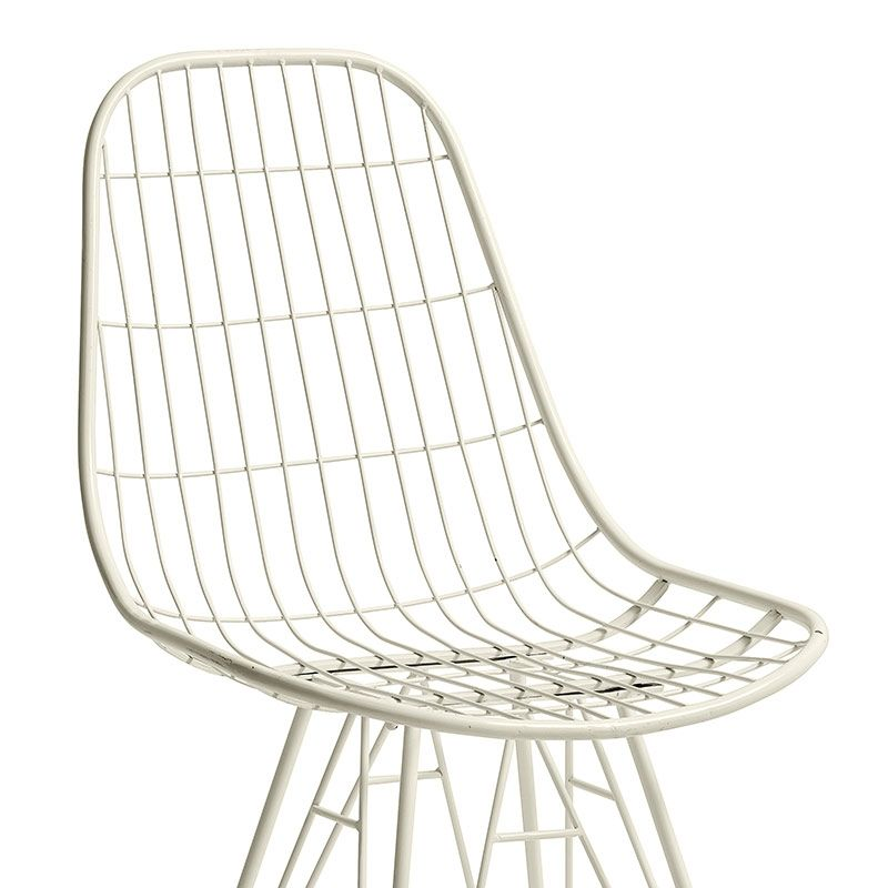 Stuhl Metall Weiß von Nordal Sessel