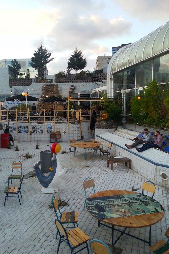 Aloha Bar at Tropicana Rotterdam Rotterdam, Outside pool