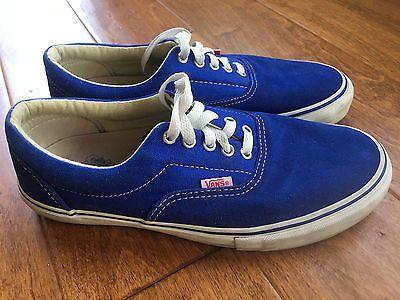 Vintage VANS Mens 9 FREE SHIP Blue Pro Classics Suede Canvas Skate Shoe https://t.co/hrl5ZFejGH https://t.co/kWfmsm4rRV