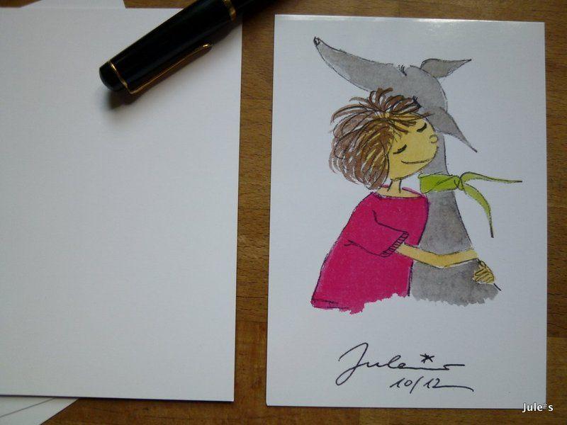"""Love"" card by Jule*s DaWanda.com"