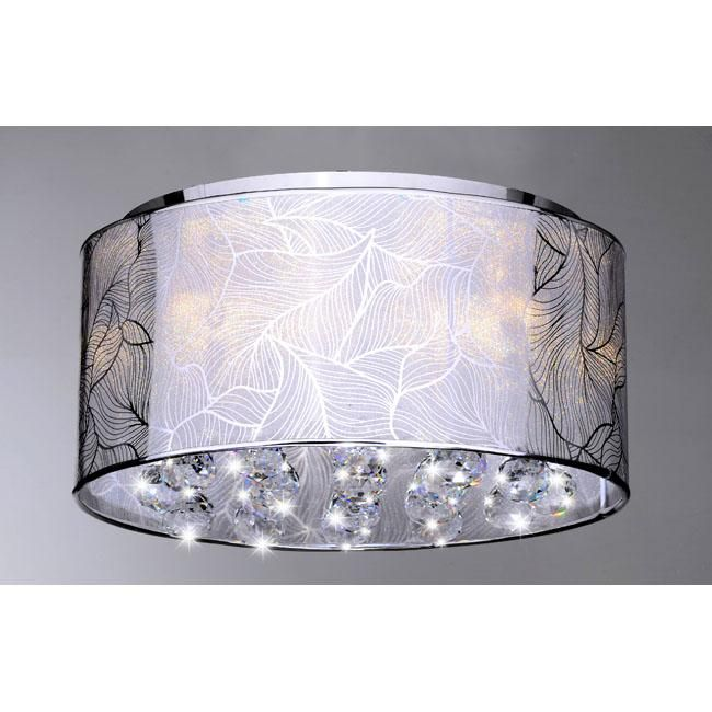 This Could Be Great If I Add A Ceiling Light To My Master Bedroom Indoor Chrome And Crystal Flushmount Chandelier Ping Deals On
