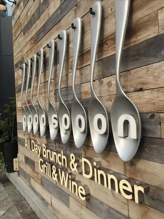 Designed and ideas in 2019 | Restaurant signage, Restaurant ...