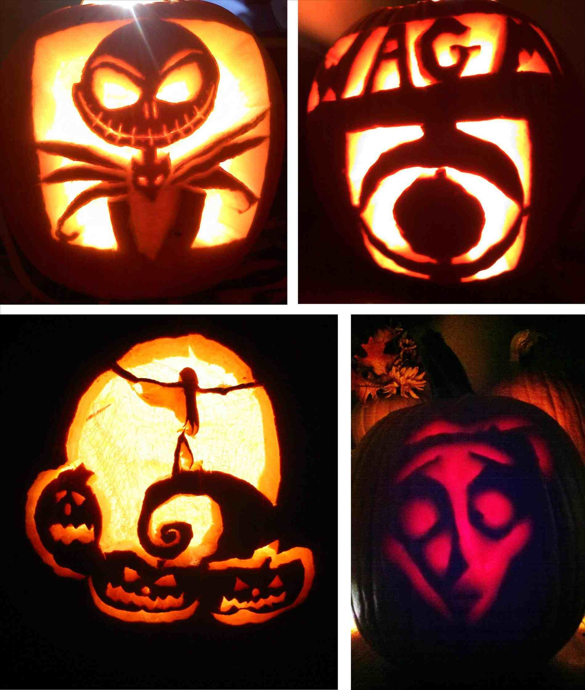 New Post easy nightmare before christmas pumpkin patterns | Decors ...