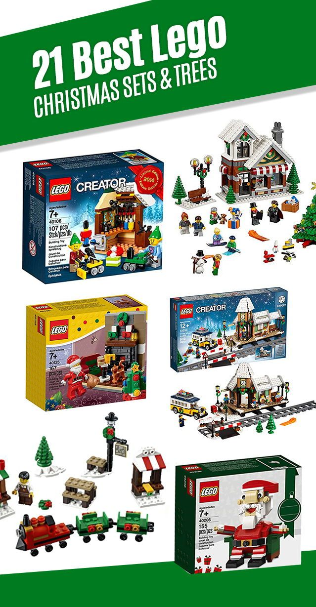 21 Best Lego Christmas Sets In 2020 Lego Christmas Sets Lego Christmas Christmas Settings