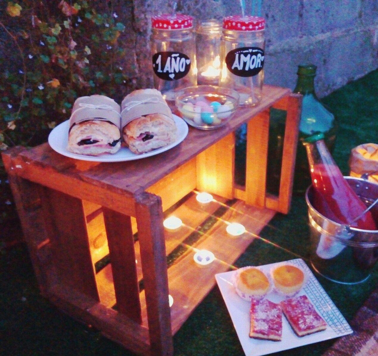 Cena rom ntica para dos picnic pinterest cena for Cena romantica para mi novio