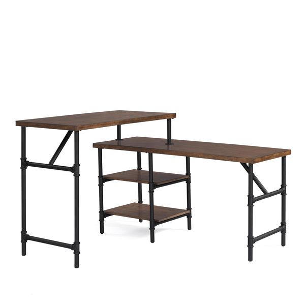 Industrial Sit Stand Desk For The Home Pinterest