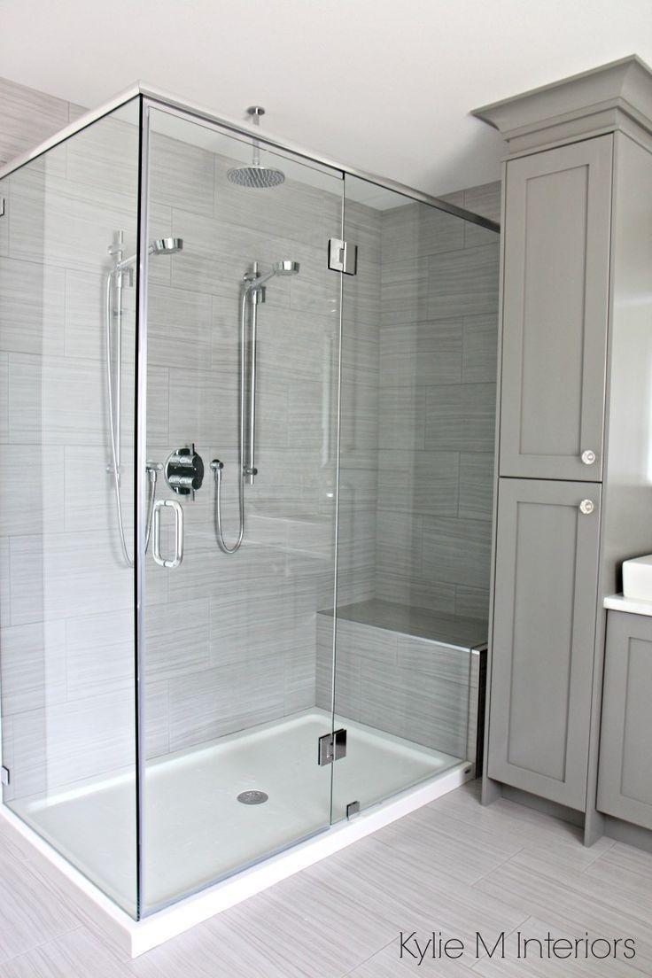 Begehbare Dusche Mit 2 Duschkopfen Glasfaserbasis Und Porzellanfassung Vani Begehbare Dusche Badezimmer Renovieren Badezimmer