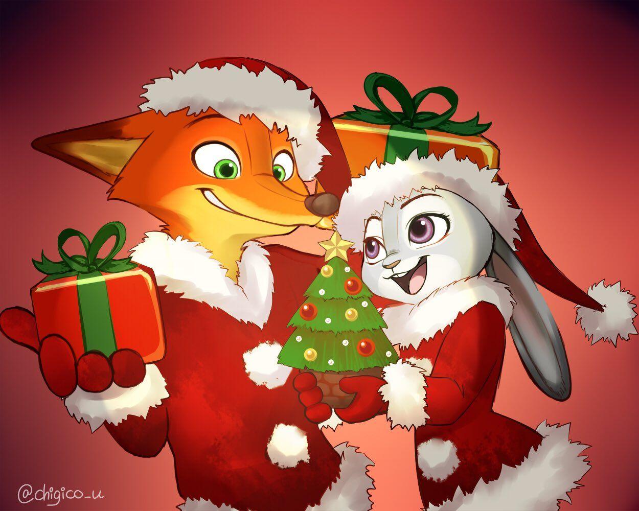 Nick and Judy!!