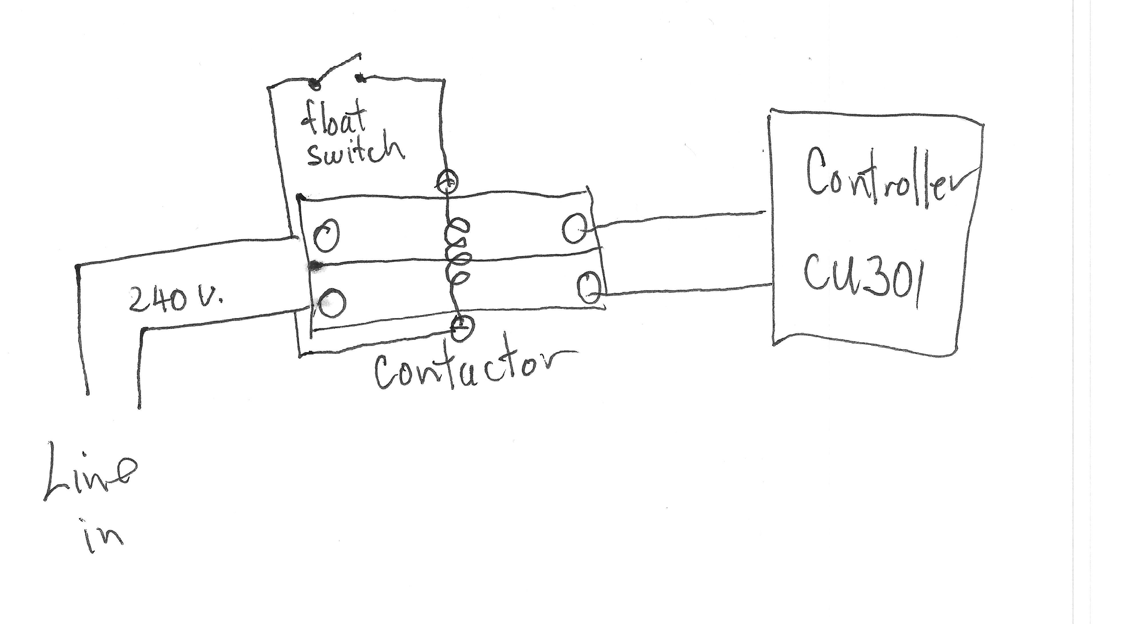 Float Switch Wiring Diagram