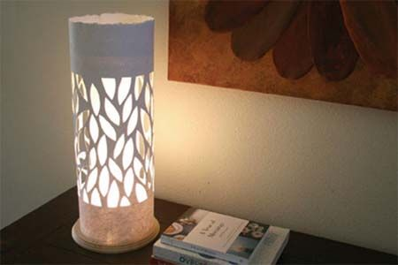 Home dzine how to make a lampshade using handmade paper diy home dzine how to make a lampshade using handmade paper aloadofball Images