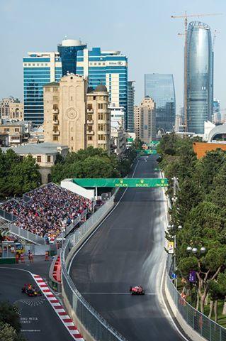 2016 Formula 1 Grand Prix Of Europe At The Baku City Circuit In Azerbaijan Baku City City Grand Prix