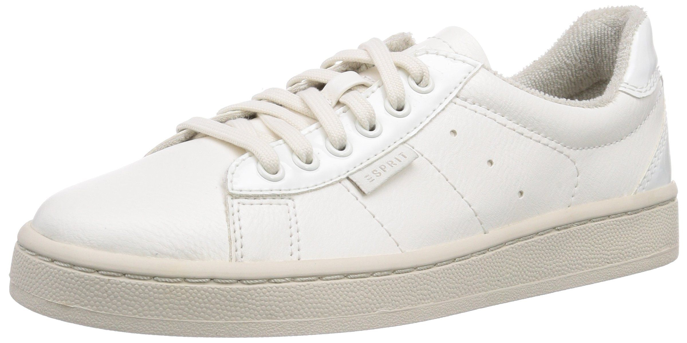 buy online 0f782 0ed14 ESPRIT Gwen Lace Up, Low-Top Sneaker donna, Bianco (Weiß ...