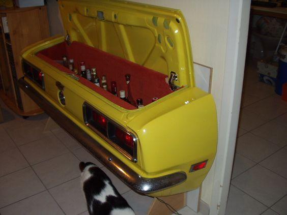 1968 Camaro Bar 自動車の内装 収納 アイデア 再利用